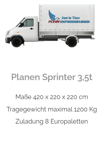 Planensprinter 3,5t